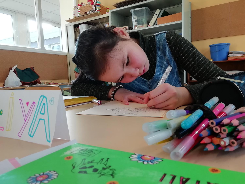 Atelier d'écriture avec D. Volut / Metz