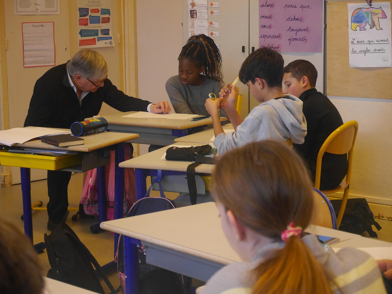 Atelier d'écriture avec J.L. Giovannoni / Ecole Beauregard-Nancy