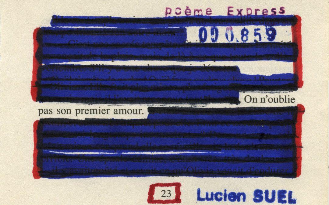 3 mai 2021 – Lucien Suel – On n'oublie pas