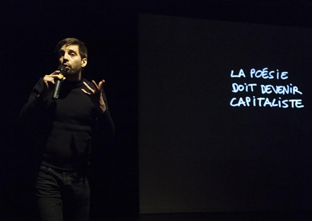 Sébastian DICENAIRE / ©E.Salquèbre / POEMA 2014